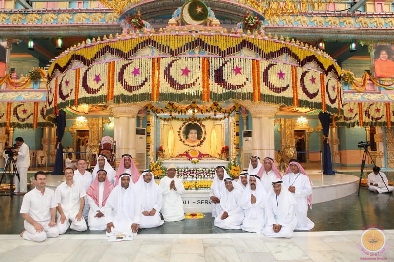 A Prasanthi Pilgrimage from Middle East and Gulf