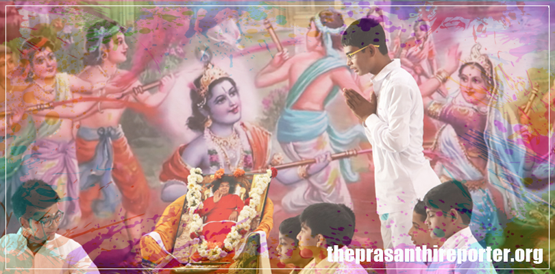 Holistic Holi In Prasanthi Nilayam…