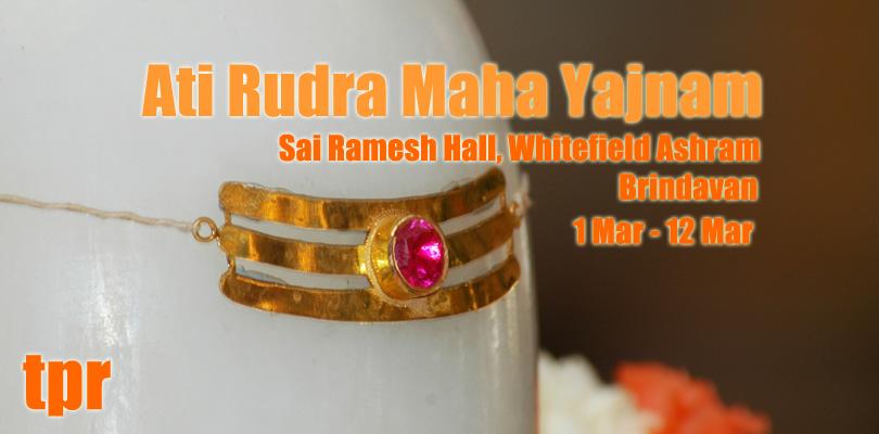 Ati Rudra Maha Yajña en Brindavan, Whitefield ...
