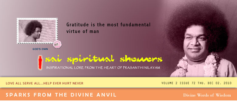Sai Spiritual Showers
