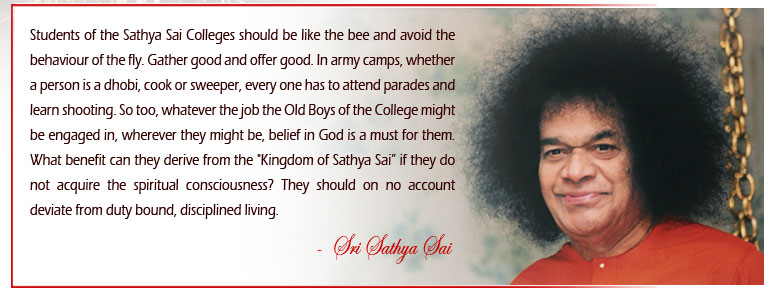 Whatever job one is engaged in, wherever one might be, belief in God is a must. On no account should one deviate from duty bound disciplined living. - Sri Sathya Sai