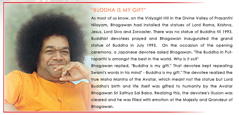 "Sparks from the Divine Anvil: ""Buddha Is My Gift"""