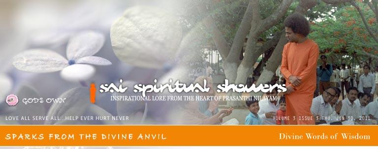 Sai Spiritual Showers Vol 3, Issue 3, Thu, Jun 30, 2011