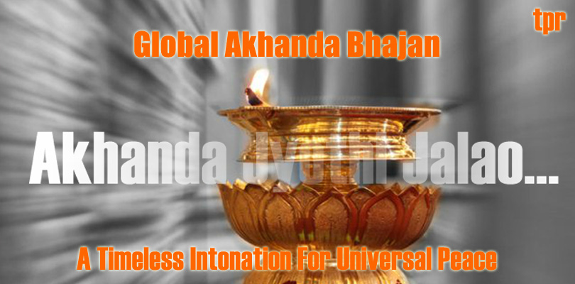Global Akhanda Bhajan today…