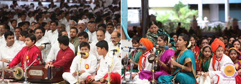 Ashadi in Prasanthi Nilayam…