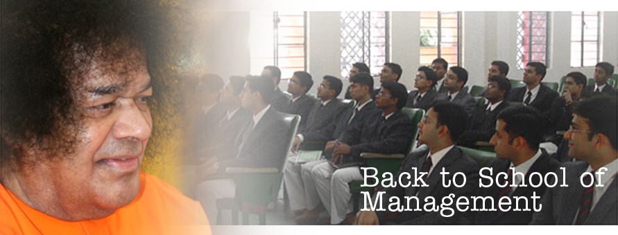 Back to School of Management…