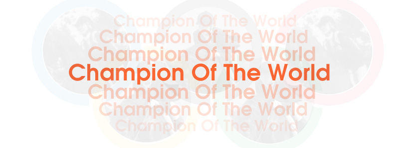 I Am The Champion Of The World