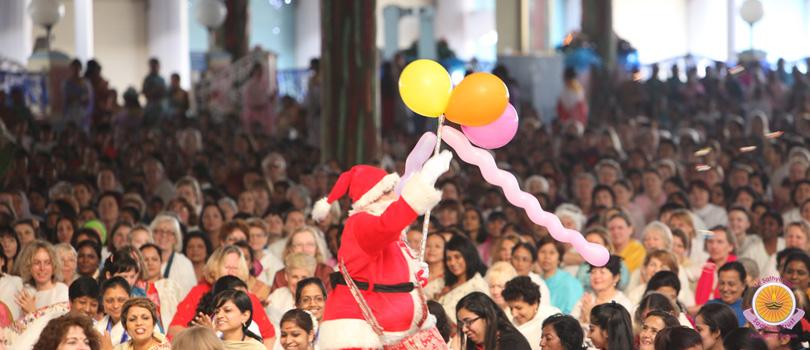 Merry Christmas in Prasanthi…
