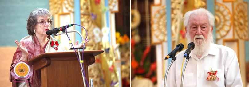 Memorable Christmas in Prasanthi Nilayam
