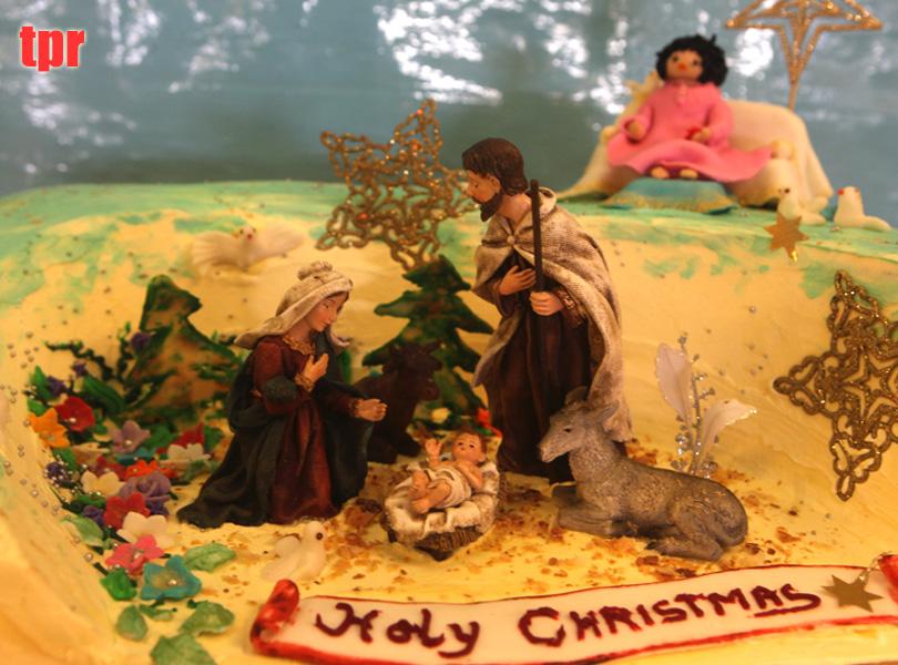 Santo Prashanti mañana de la Navidad ...