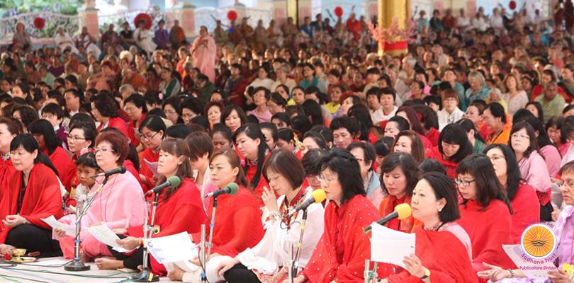 Chinese New Year in Prasanthi Nilayam�