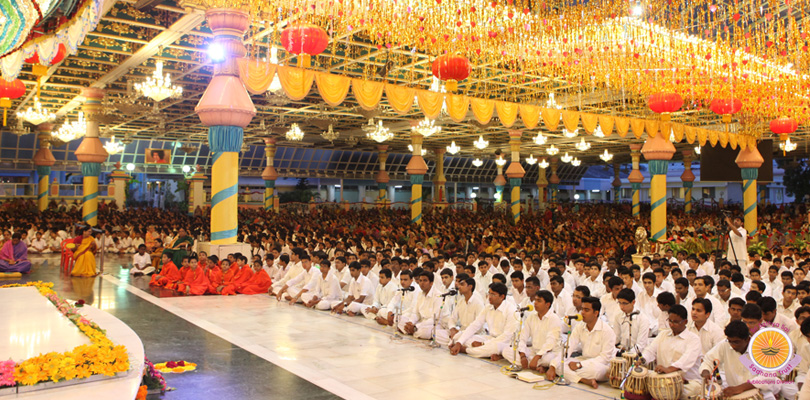 First session of Prasanthi Vidwan Mahasabha…