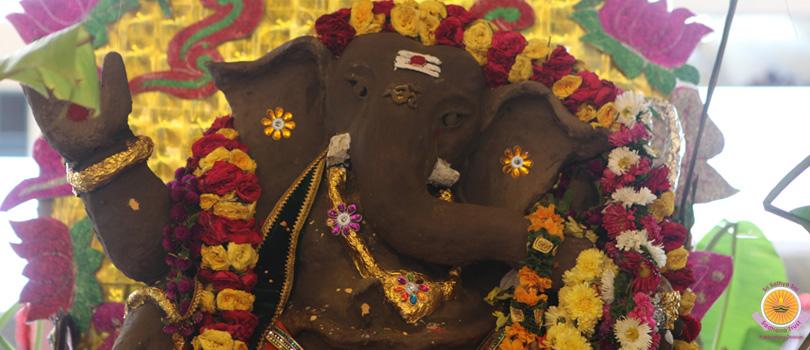 Ganeshas retreat in Prasanthi…