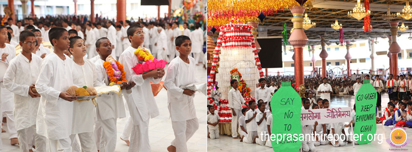 Lord Ganesha Immersed with Festive Gaiety�