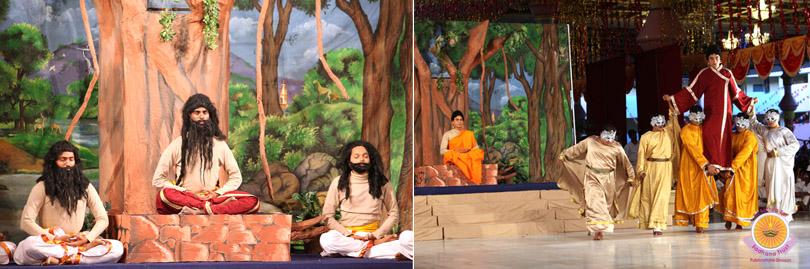 Buddha Story Retold by Prasanthi Nilayam Campus�
