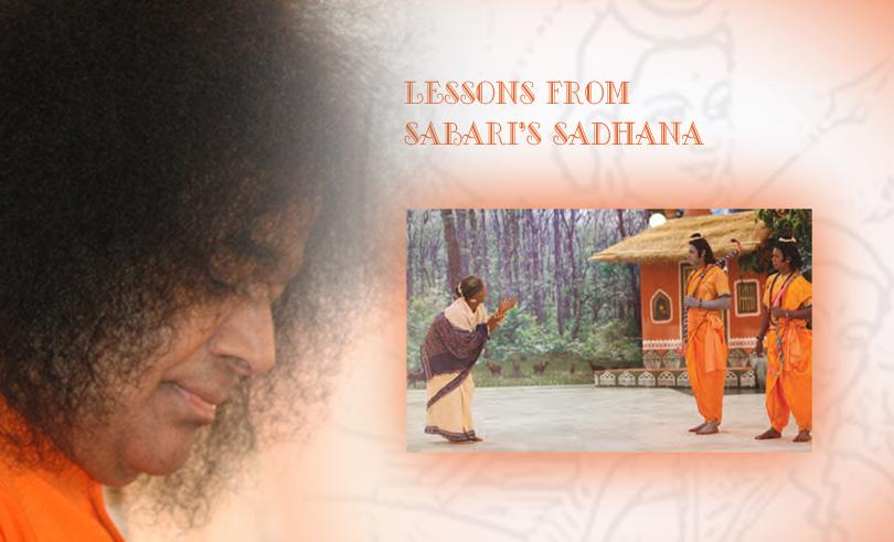 Lessons From Sabari's Sadhana…