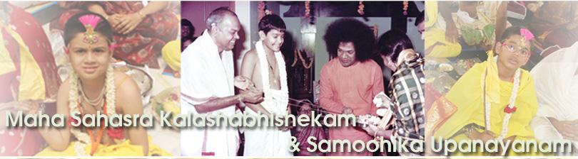 Maha Sahasra Kalashabhishekam and Samoohika Upanayanam…