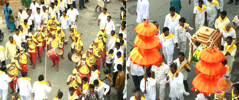 Odisha takes to the street in a huge procession…
