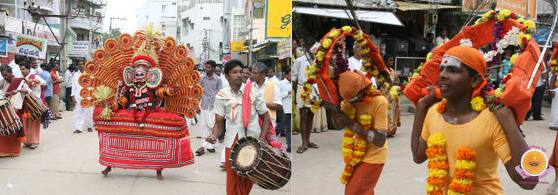 Grand Kerala Cultural Ensemble in Prasanthi Nilayam…