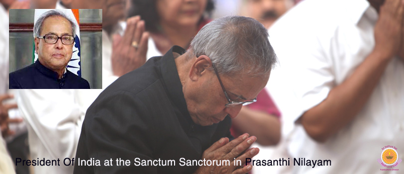 Christmas is in the air & President Of India visits Prasanthi…