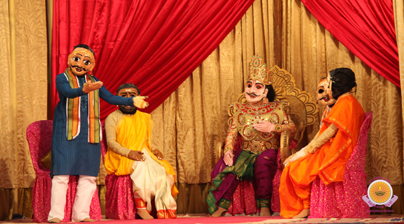 Puppet Drama by Anantapur Girls…