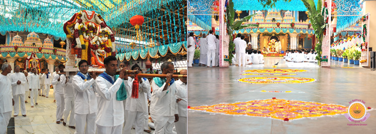 Celestial Marriage and Rathotsavam�