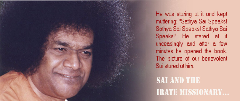Sai and the Irate Missionary…