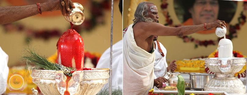 Lingabhishekam and Akhanda Bhajan…