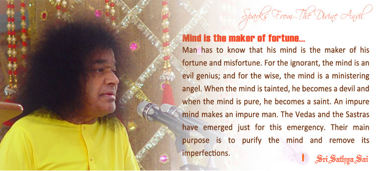 Sathya Sai Baba transcends the laws of science…