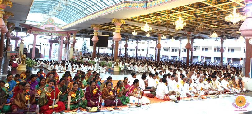 Thyagaraja Aradhana in Prasanthi Nilayam…