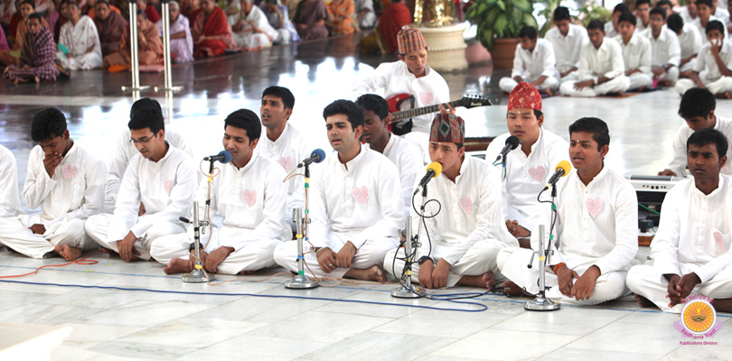 Graitutude Offering by UG Boys Of Prasanthi�