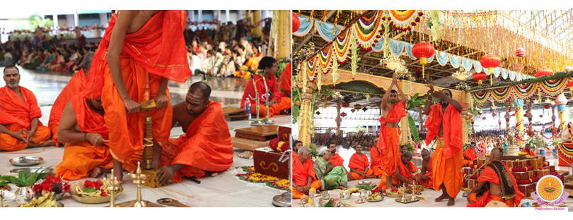 Vishwa Shanthi Homam gets underway�