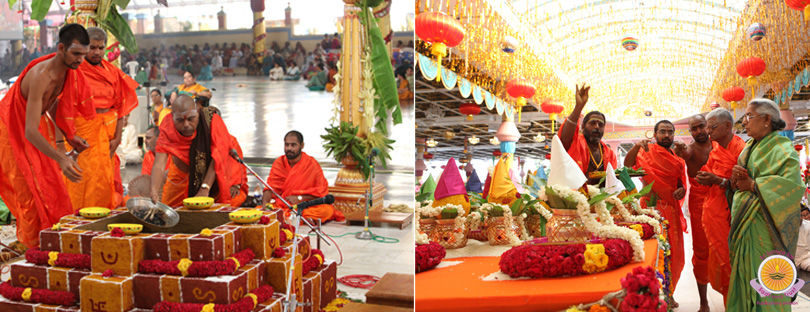Vishwa Shanthi Homam gets underway…